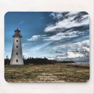 Prim Point Lighthouse Mouse Pad
