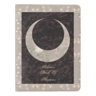 Prim Single Moon BoS Lg. Travel BOS Grimoire Extra Large Moleskine Notebook