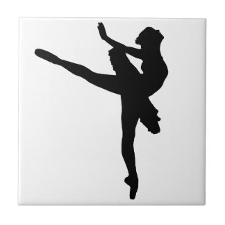 PRIMA BALLERINA! (ballet dancer) ~ Small Square Tile