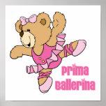 Prima Ballerina Bear Print