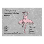 'Prima Ballerina' Profile Card Pack Of Chubby Business Cards