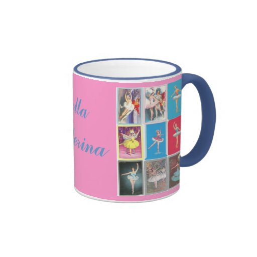 prima ballerina ringer coffee mug
