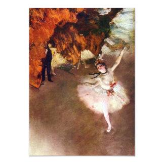 Prima Ballerina, Rosita Mauri by Edgar Degas Card