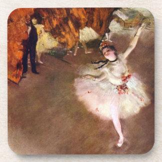 Prima Ballerina, Rosita Mauri by Edgar Degas Coaster