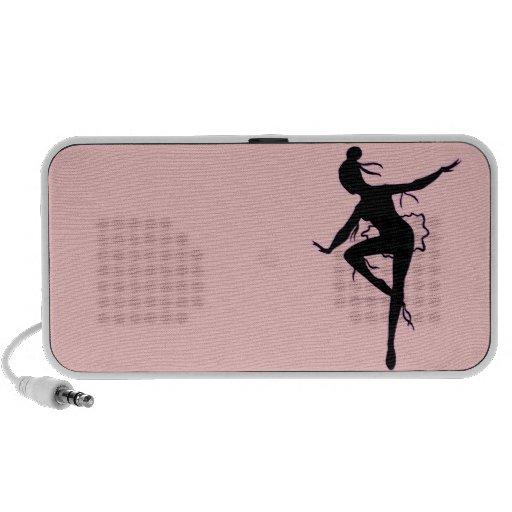 Prima Ballerina Silhouette Speaker