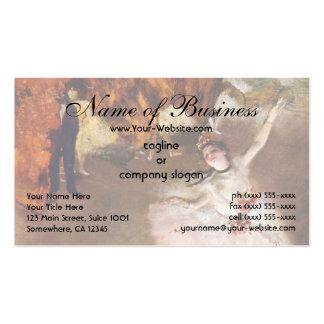 Prima Ballerina the Star by Edgar Degas Business Cards