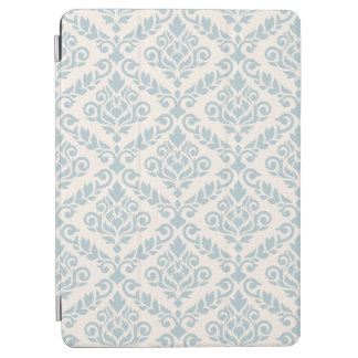 Prima Damask Big Ptn Blue on Cream iPad Air Cover