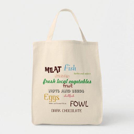 Primal Grocery List Tote Grocery Tote Bag