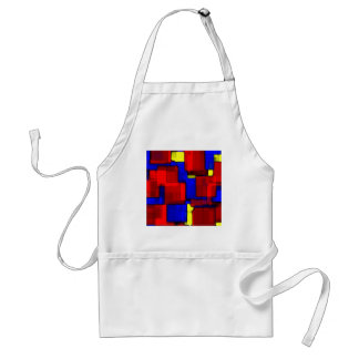 Primary Abstract Adult Apron