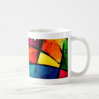 Primary Abstract Groovy Art Coffee Mug