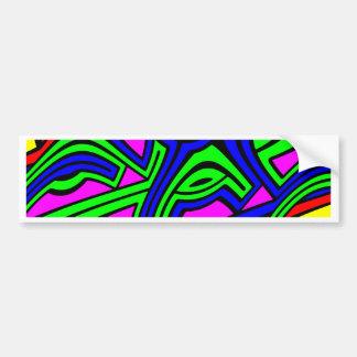 Primary Bumper Sticker