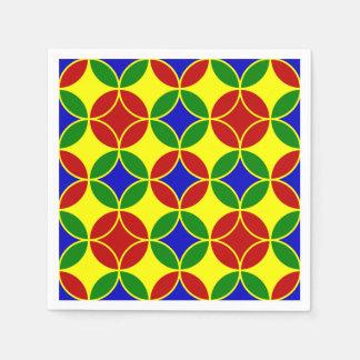 Primary Circles-1-PAPER NAPKINS Disposable Napkins