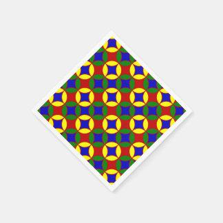 Primary Circles-9-PAPER NAPKINS Paper Napkin