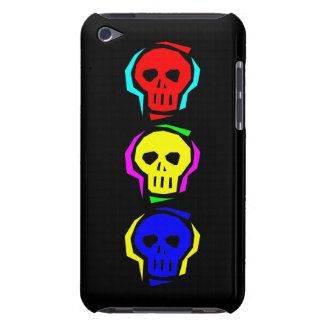 Primary Color Skulls Barely There iPod Covers