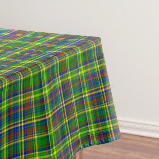 Primary Colors-Plaid 10-COTTON TABLECLOTH 52x70in