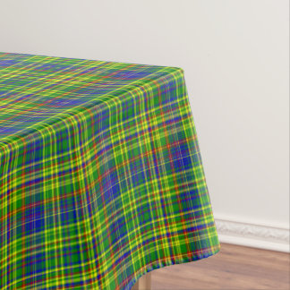 Primary Colors-Plaid 12-COTTON TABLECLOTH 52x70in