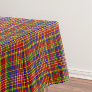 Primary Colors-Plaid 3-COTTON TABLECLOTH 52x70in