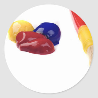 primary colors sticker