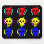 Primary Colour Skulls