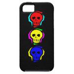 Primary Colour Skulls iPhone 5 Cases