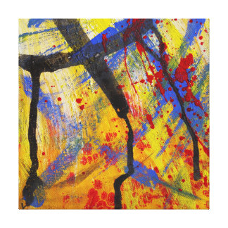 Primary Colours Abstract Print