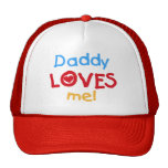 Primary Colours Daddy Loves Me T-shirts and Gifts
