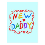 Primary Colours New Daddy Tshirts and Gifts