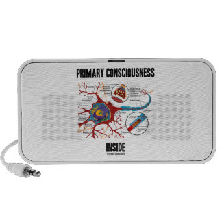 Primary Consciousness Inside (Neuron / Synapse) iPod Speakers