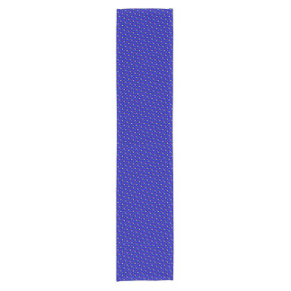 Primary Polka Dots-Blu-COTTON TABLE RUNNER