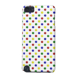 Primary Polka Dots,Transparent-iPod Touch 5g Case