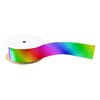 Primary Rainbow Gradient Satin Ribbon