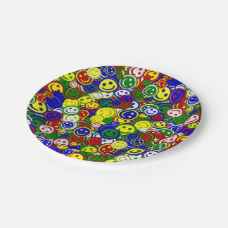 Primary Smiley Face Beads,GREEN-PAPER PLATES 7 Inch Paper Plate