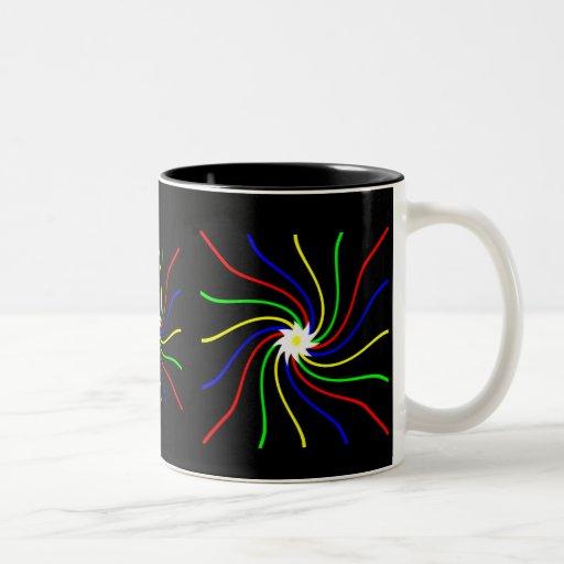 Primary Swirls Mugs