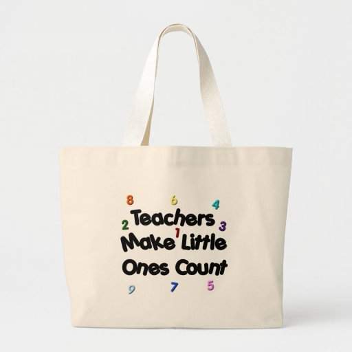 Primary Teacher Tote Canvas Bag
