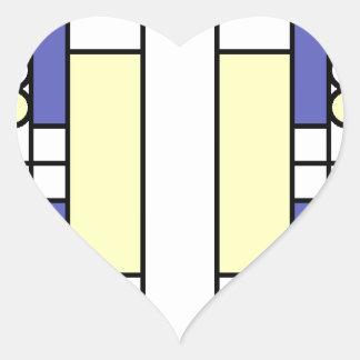 Primary Windows Heart Sticker