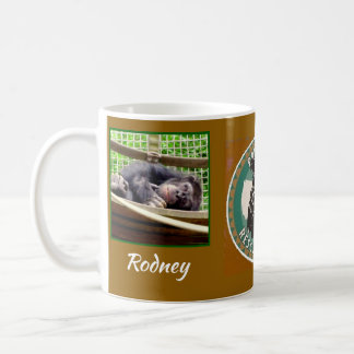 Primate Rescue Center in Kentucky logo with Rodney Coffee Mug