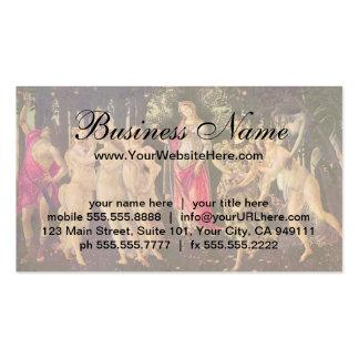 Primavera by Botticelli, Antique Renaissance Art Pack Of Standard Business Cards