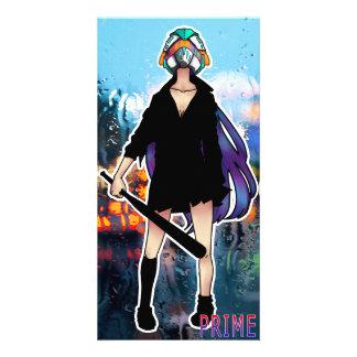 -PRIME- Batgirl SNOW Card Custom Photo Card