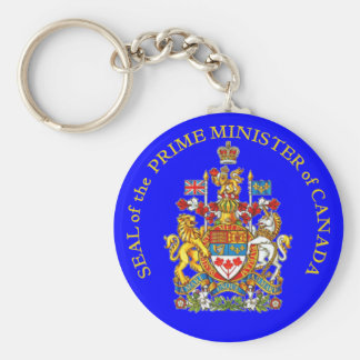 Prime Minister of Canada Key Ring