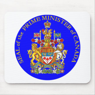 Prime Minister of Canada Mouse Mat