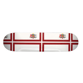 Prime Minister Of Latvia, Kyrgyzstan 21.6 Cm Skateboard Deck