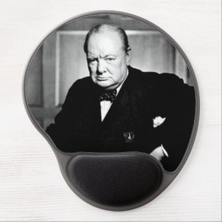 Prime Minister Winston Churchill Gel Mouse Pad