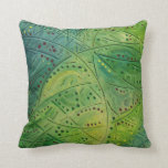 Primitive abstract 2 by rafi talby pillow