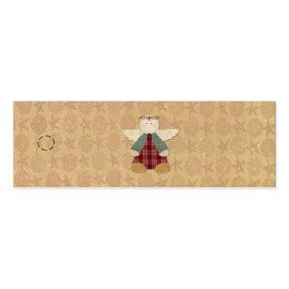 Primitive Angel Hang Tag Pack Of Skinny Business Cards