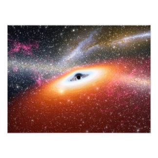 Primitive Black Hole Space Art Photo Art