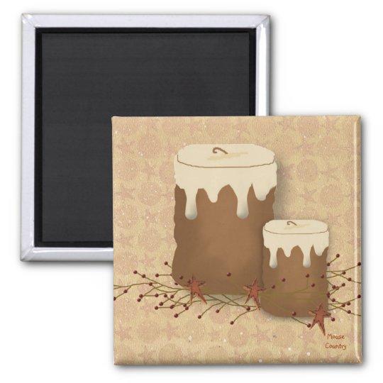 Primitive Candles Magnet