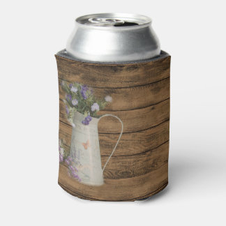 primitive country lavender rustic barn wood can cooler