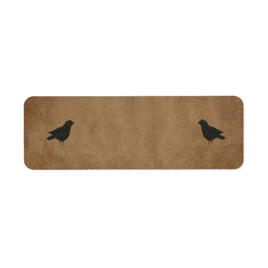 Primitive Crows Small Product Label