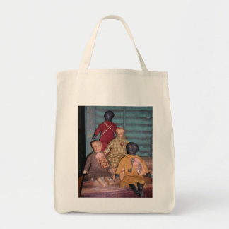 Primitive Dolls Plain Folks Grocery Bag