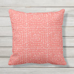 Primitive Geometric Squares in Live Coral Cushion